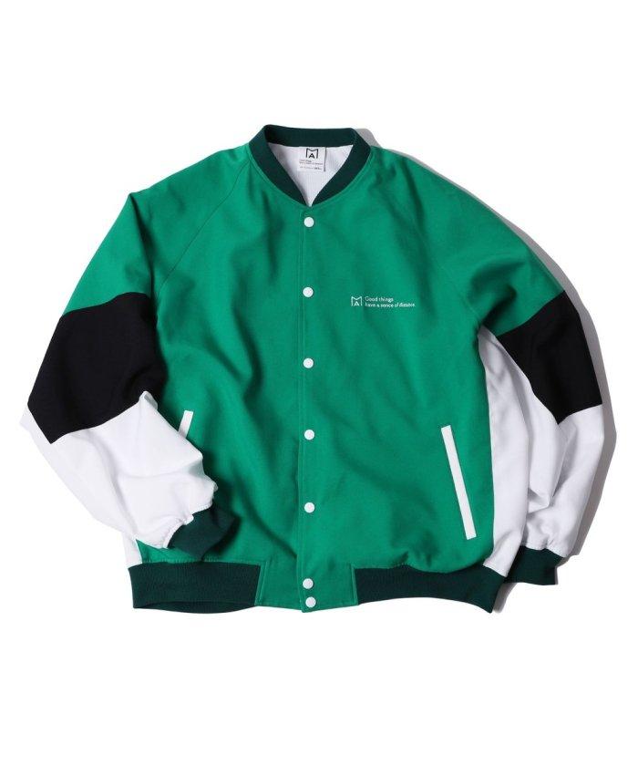 MA by Satoshi Mizutani Athletic snap button jacket