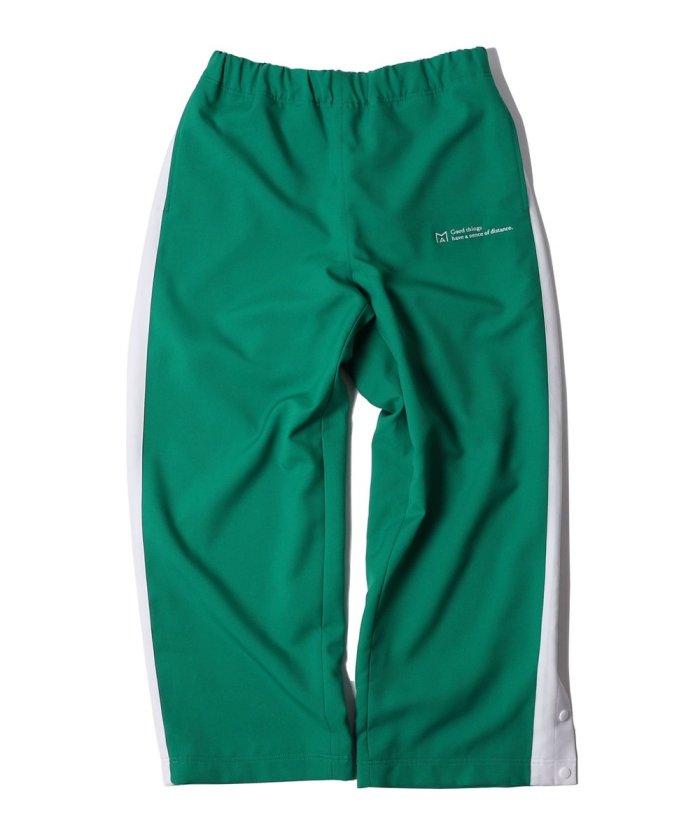 MA by Satoshi Mizutani Athletic snap button pants