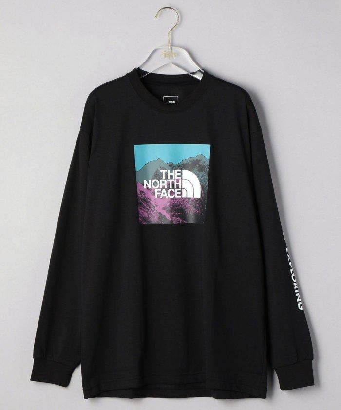 ロングスリーブデジタルロゴTシャツ/NT82137【WEB限定】
