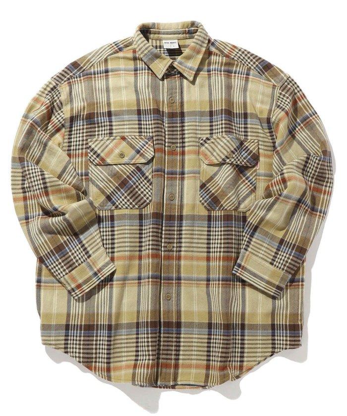 ヘビーネルシャツ