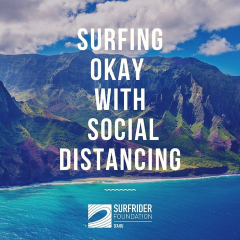 Surfing Okay with Social Distancing