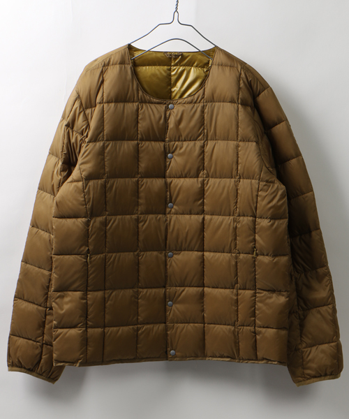 FREAK'S STORE WEB限定 TAION CREW NECK INNER DOWN JACKET