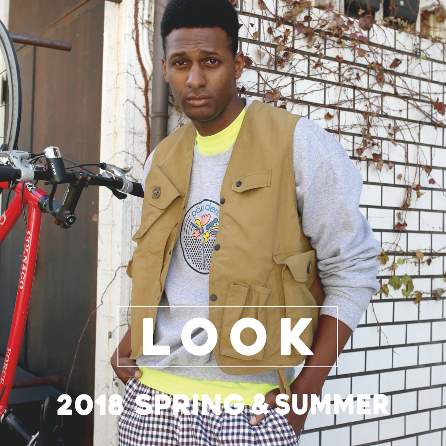 <LOOK>Spring & Summer for  Men's