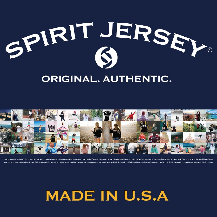 SPIRIT JERSEY® POP UP SHOP