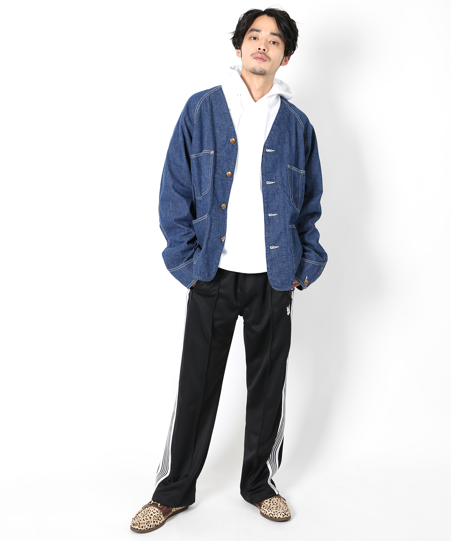 orslow 別注Engineer Shirt DENIM