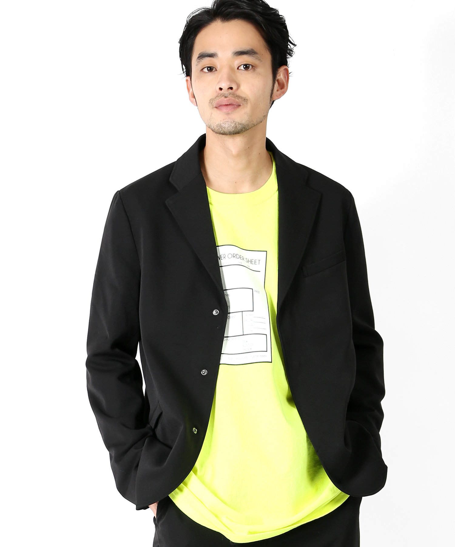 WILD THINGS 別注 Stretch Jacket