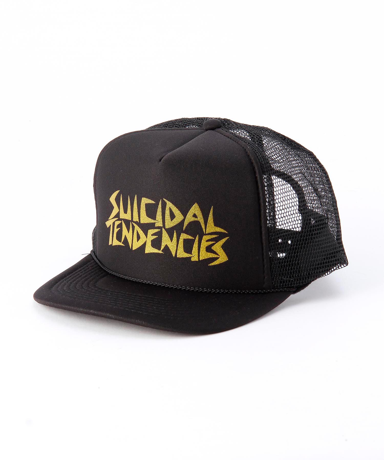 SUICIDAL TENDENCIES Flip Hat Gold キャップ