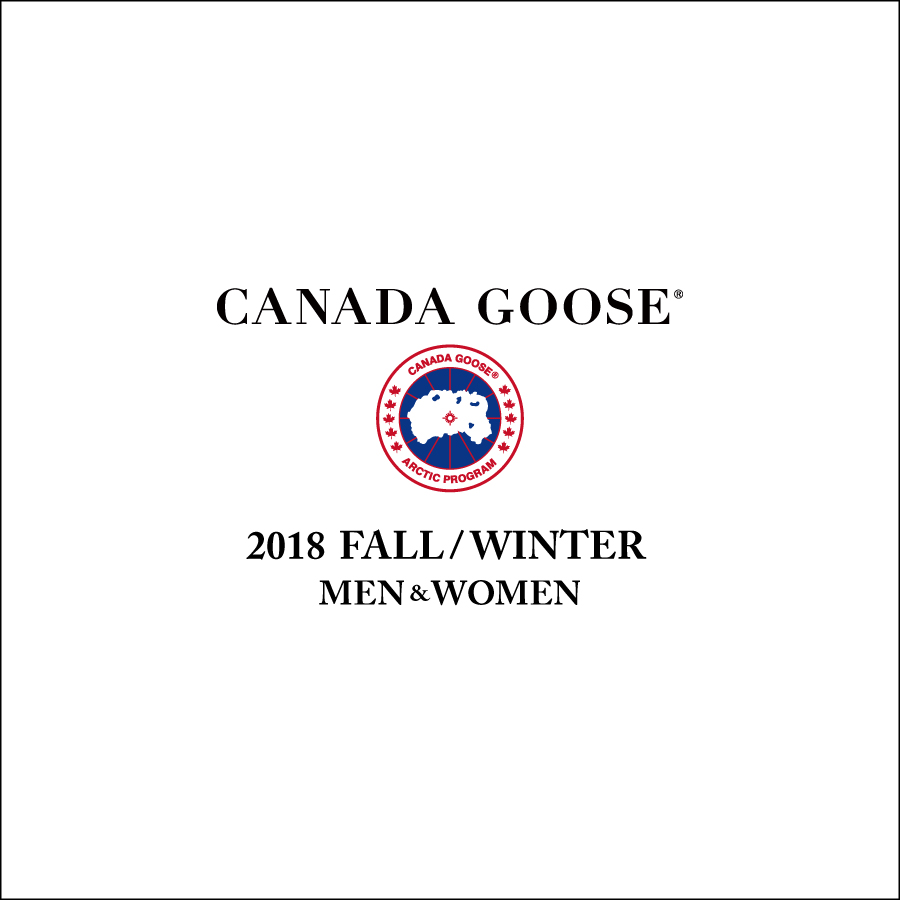 CANADA GOOSE DOWN JACKET 2018秋冬モデル