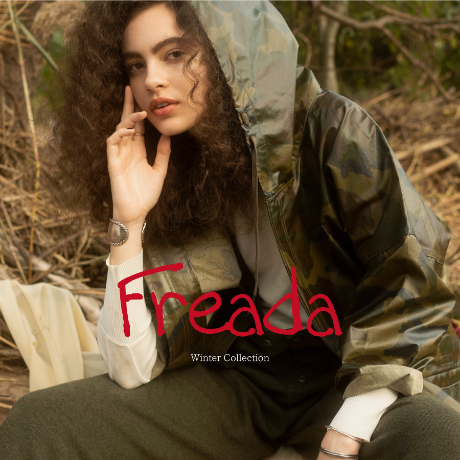 Freada Winter Collection 12/14(金)発売開始