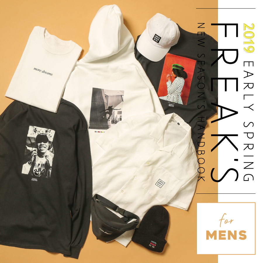 FREAK'S NEW SEASON'S《MENS》2019 EARLY SPRING