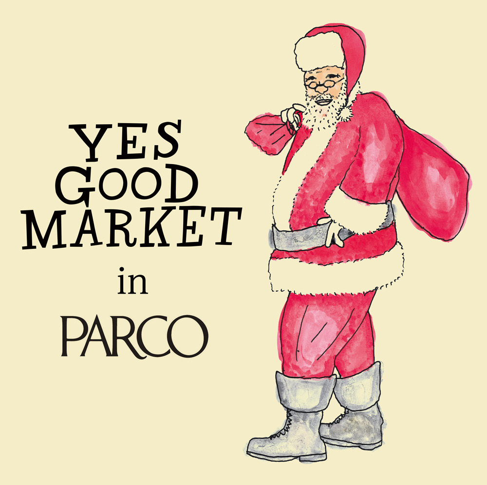 Yes Good Market Christmas in PARCO