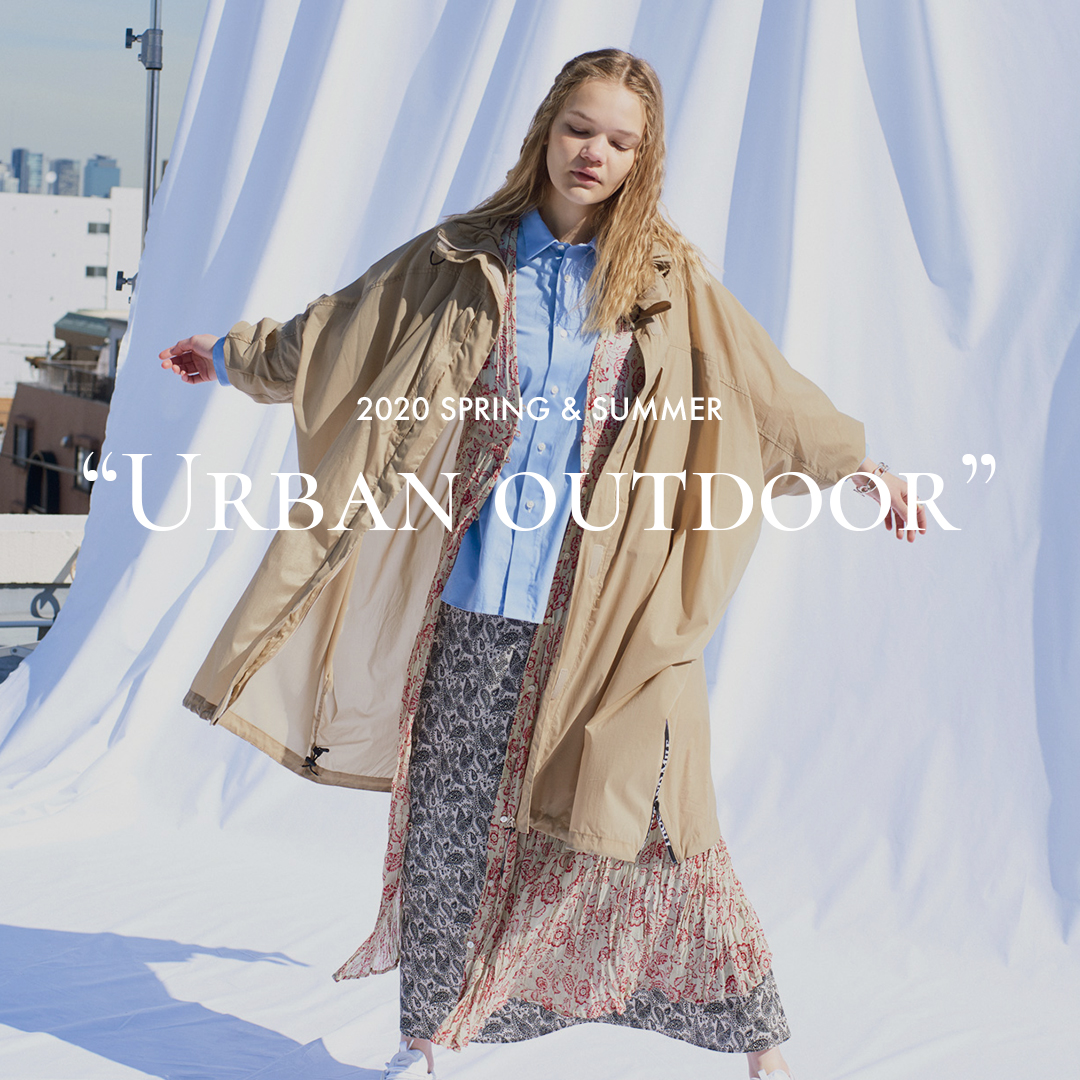 "2020 SPRING & SUMMER ""Urban outdoor"" WOMEN'S"