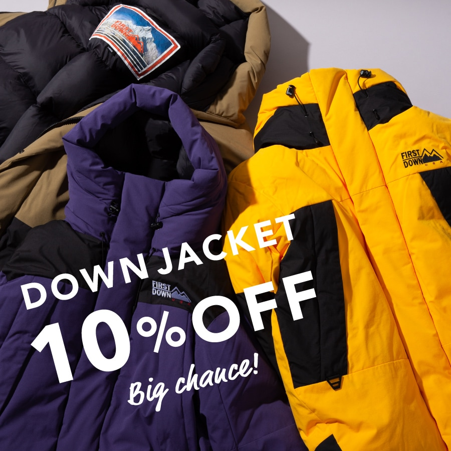 期間限定!DOWN OUTER 10%OFF!<10.28(水)11:59まで>